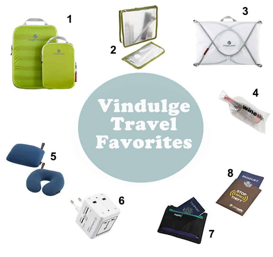 Vindulge Travel Favorites