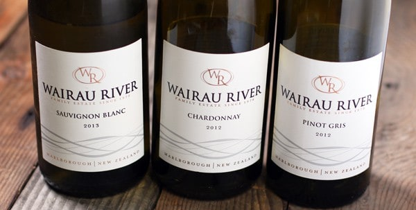 A trio of Wairau River wines from Marlborough, New Zealand