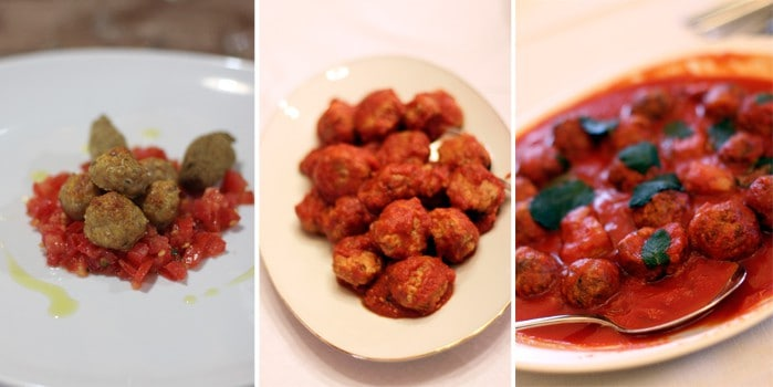 Meatballs in Sicily