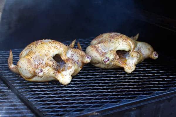 Smoked Chickens