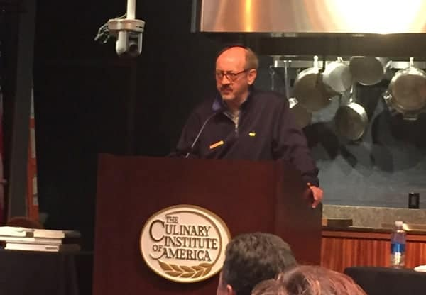 Billy Collins speaking at The Symposium for Professional Wine Writers