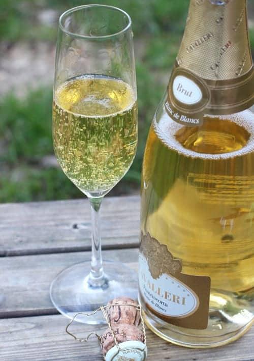 Cavalleri Franciacorta Blanc de Blancs sparkling wine