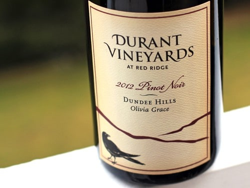 Durant Vineyards Olivia Grace Pinot Noir 2012