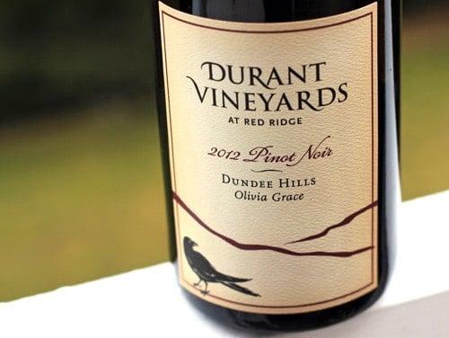 Durant Vineyards Olivia Grace Pinot Noir 2012
