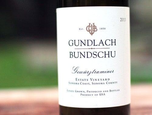 Gundlach Bundschu Gewürztraminer 2013