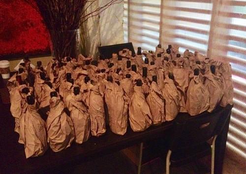 Oregon Chardonnay Symposium Blind Tasting Lineup