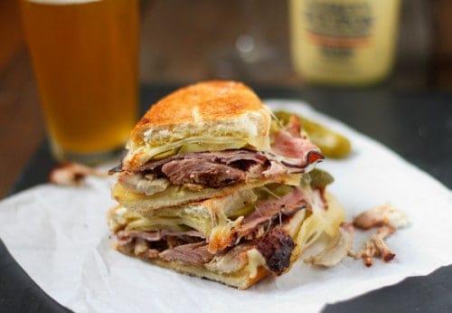 Smoked Pork Cuban Sandwiches