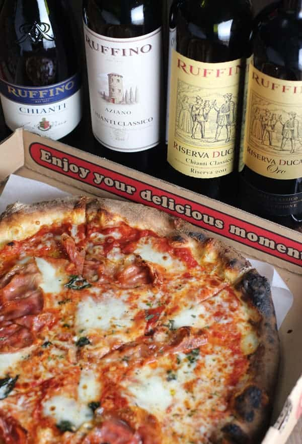Pairing Chianti with Pizza