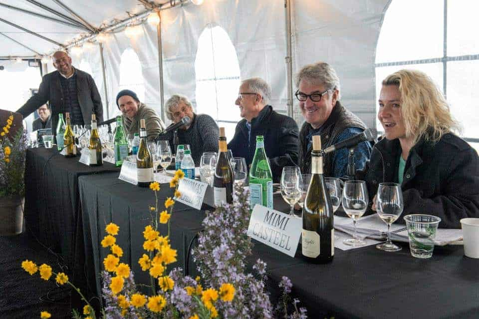 Panel at Oregon Chardonnay Symposium, Photo by Andrea Johnson Photography