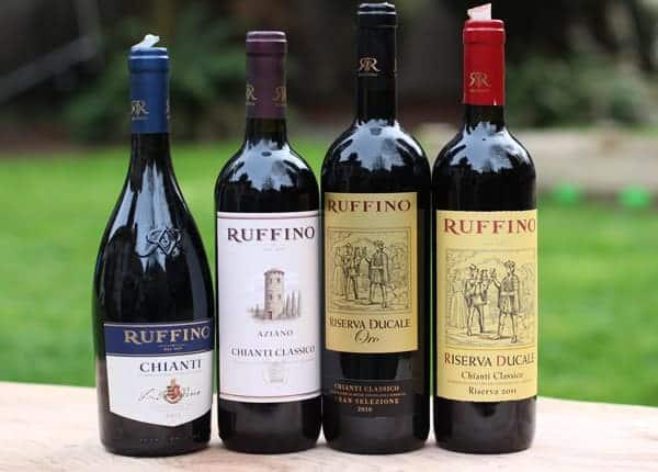 Ruffino Chianti Wines