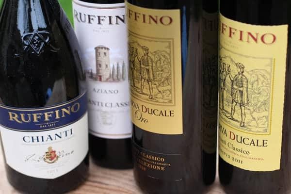 Ruffino Chianti Wines and Chianti Classico Style Wines