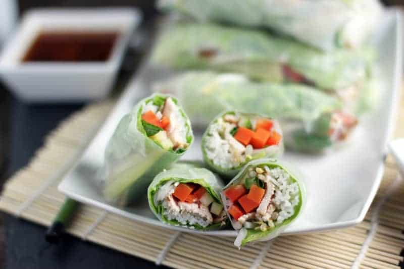 Spring Rolls and Wine Pairing