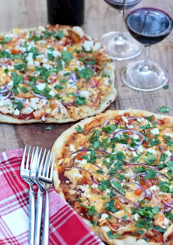 BBQ Chicken Pizza, smoked vs grilled, and wine pairing recommendations