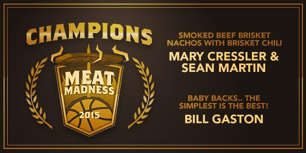 Traeger Meat Madness Championship