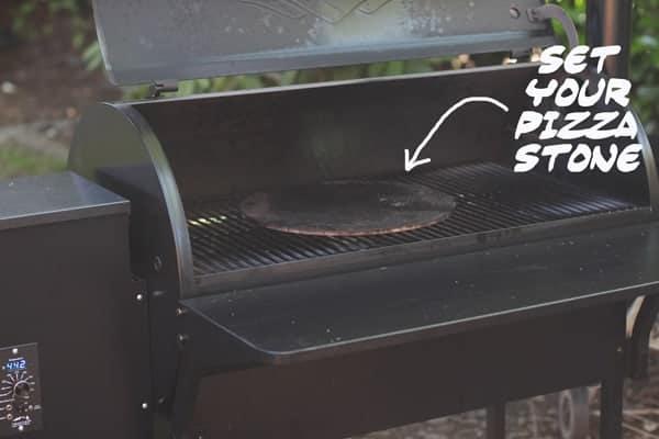 Using a Pizza Stone on a Smoker