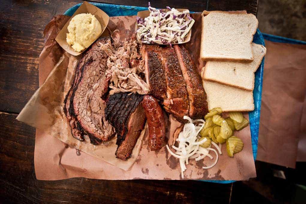 BBQ Plate from Franklin BBQ