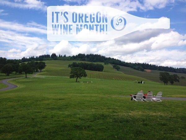 It's Oregon Wine Month