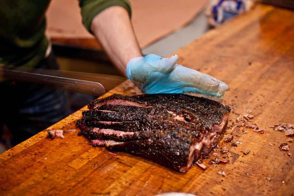 How to properly slice brisket