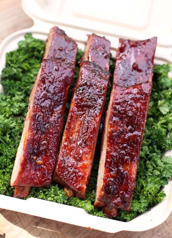 Competition Ribs in a turn-in box