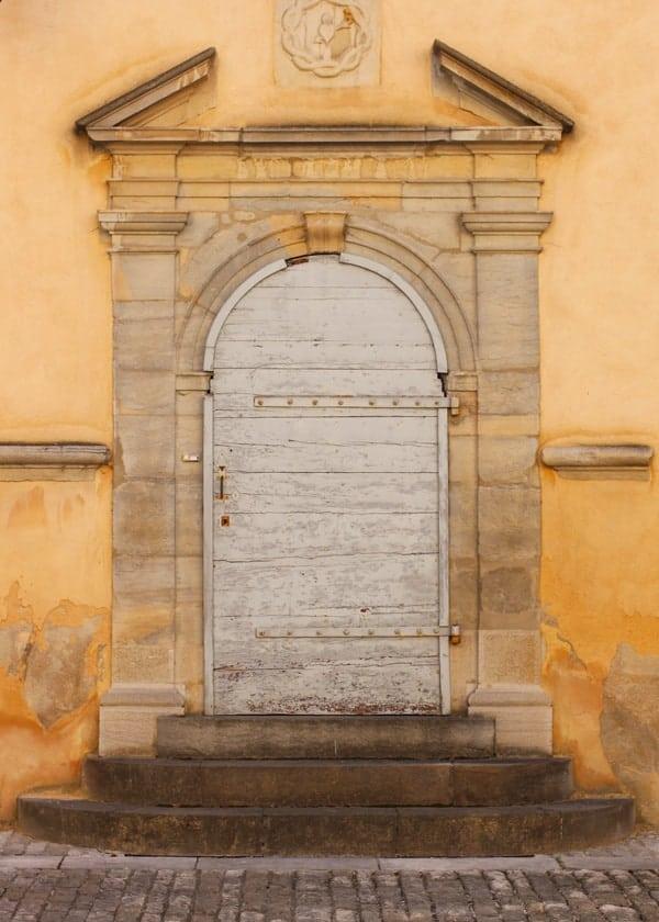 Door in Poligny France
