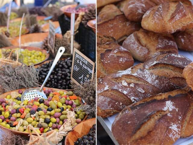 Famers Market in the Jura Mountain Region