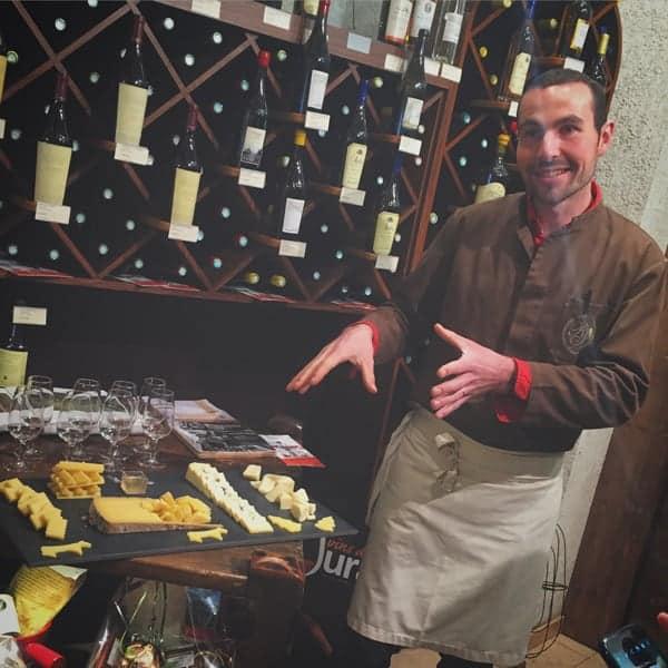 Marc Janin, cheesemonger