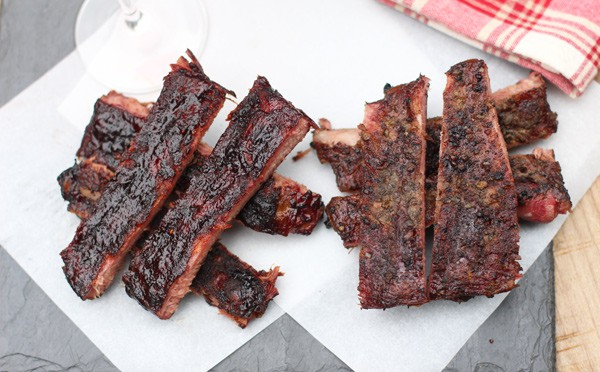 Smoked Ribs two ways