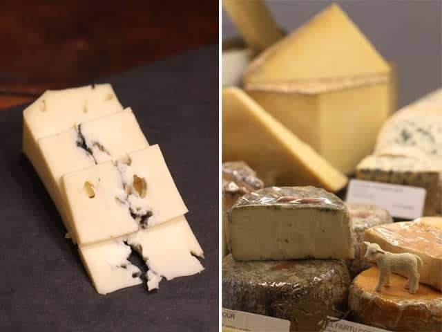 Tasting cheese with Marc Janin, cheesemonger from Fromagerie Robert Janin