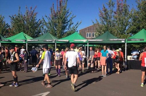 Wine Festival at the Oregon Wine Country Half Marathon