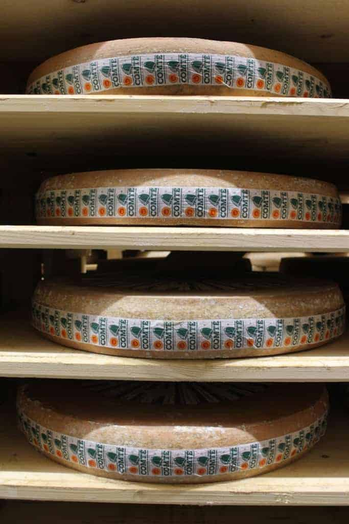 Aging Comté in the Affinage Cellar