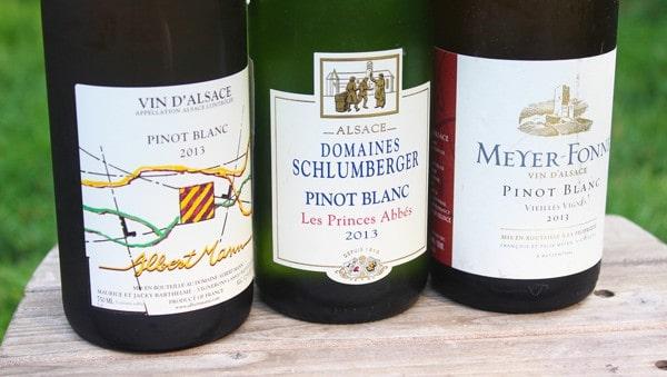 Alsacian Pinot Blancs