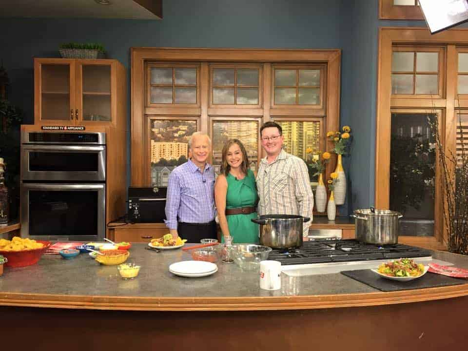 Cooking Demo on AM Northwest