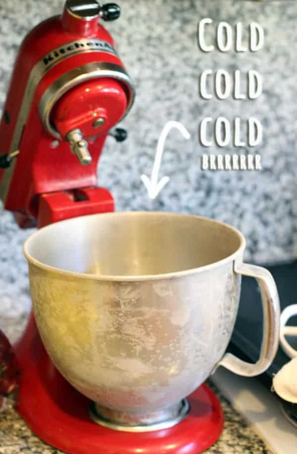 Cold Kitchen Aid Stand Mixer