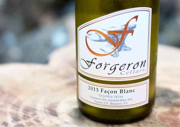 Forgeron Cellars, Façon Blanc Rhône White 2013