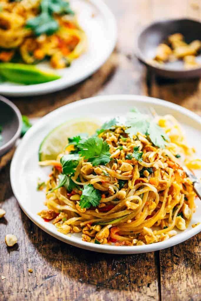 Pinch of Yum, Vegetarian Pad Thai