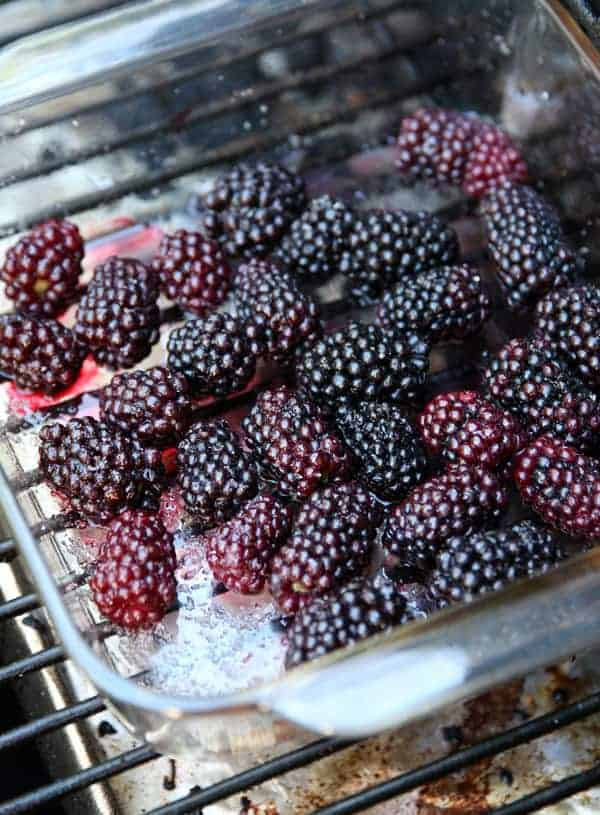 Smoked Blackberries