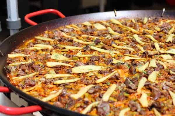 Crown Paella at IPNC