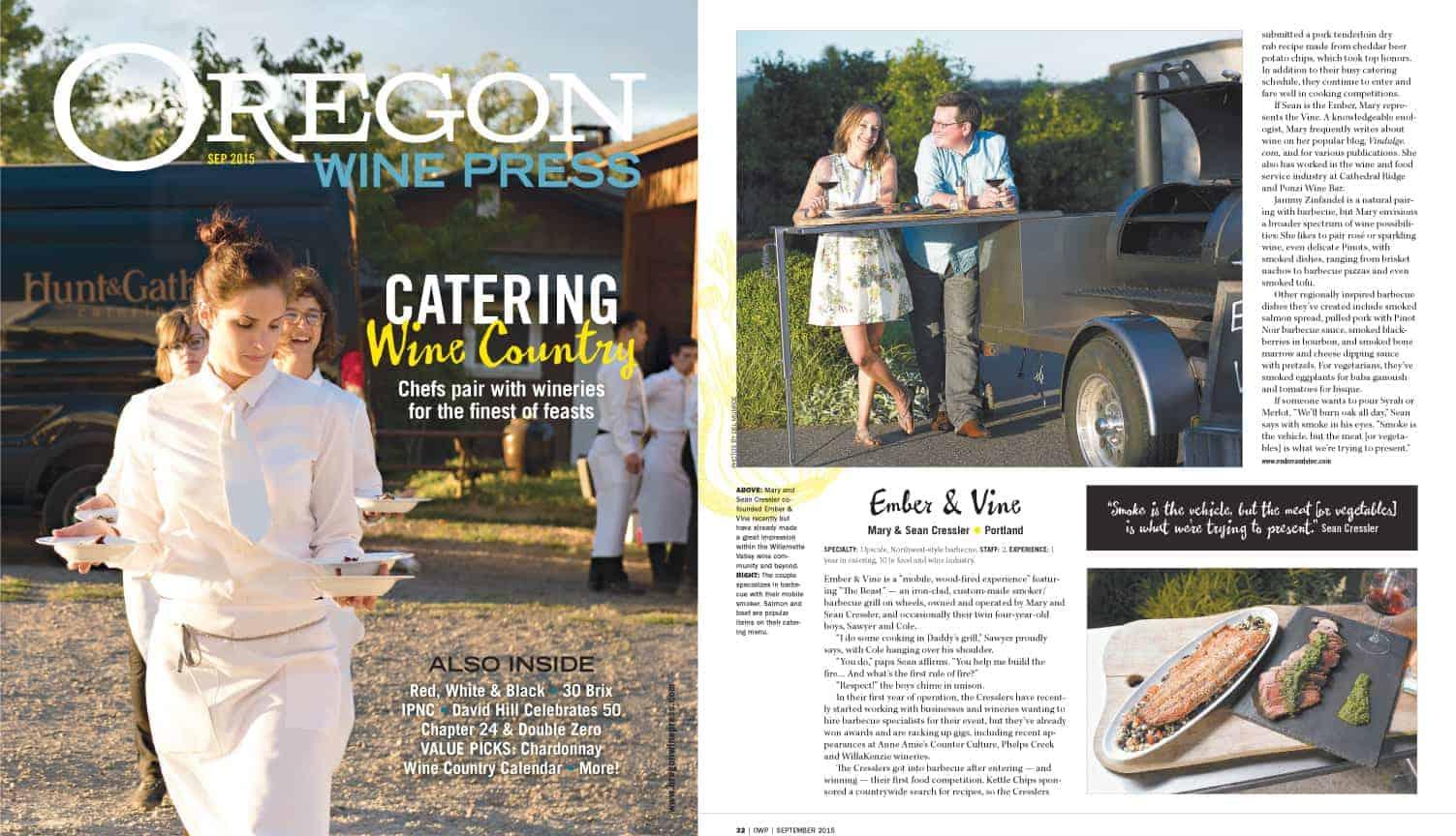 Oregon Wine Press September 2015