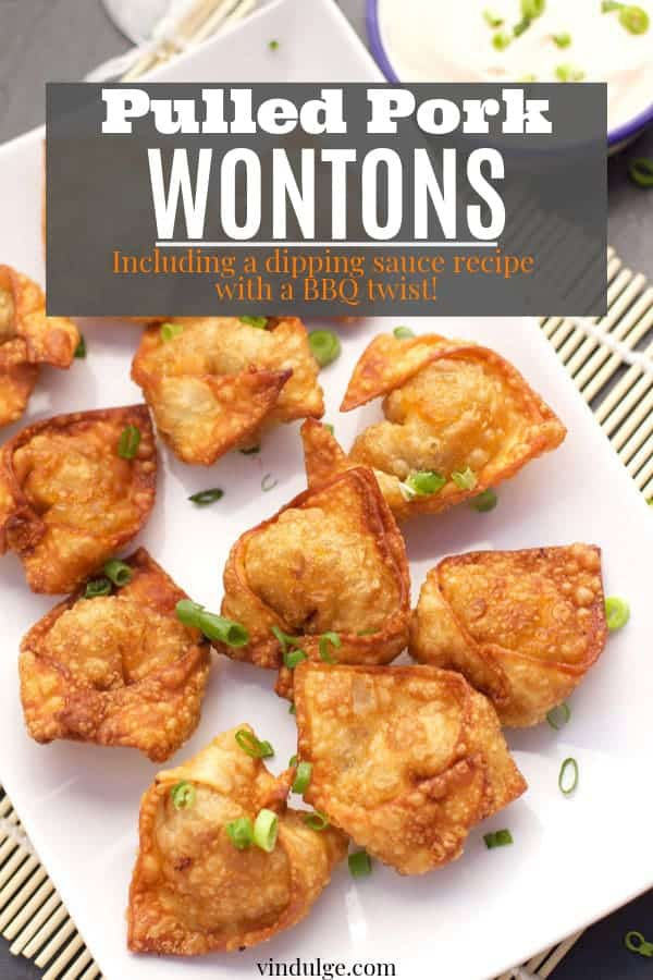pork wonton recipe pin image