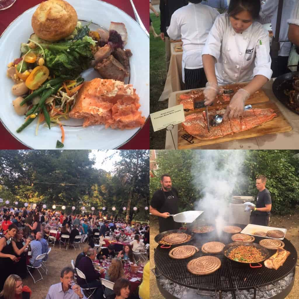 Salmon Bake at IPNC 2015