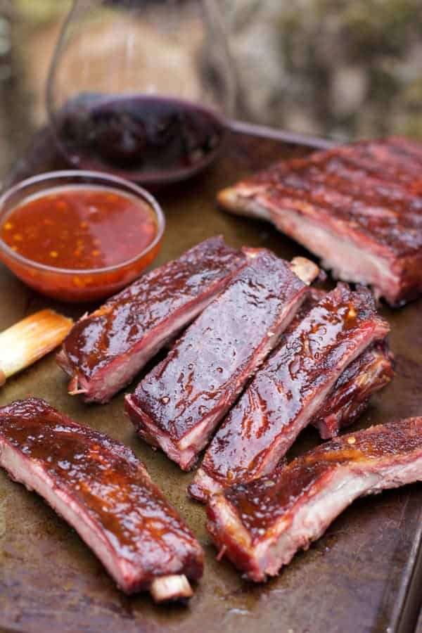 Smoked Pork Ribs with Asian Spice Rub