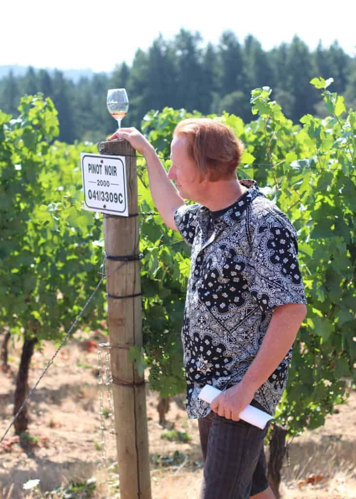 Thomas Houseman, winemaker Anne Amie Vineyards
