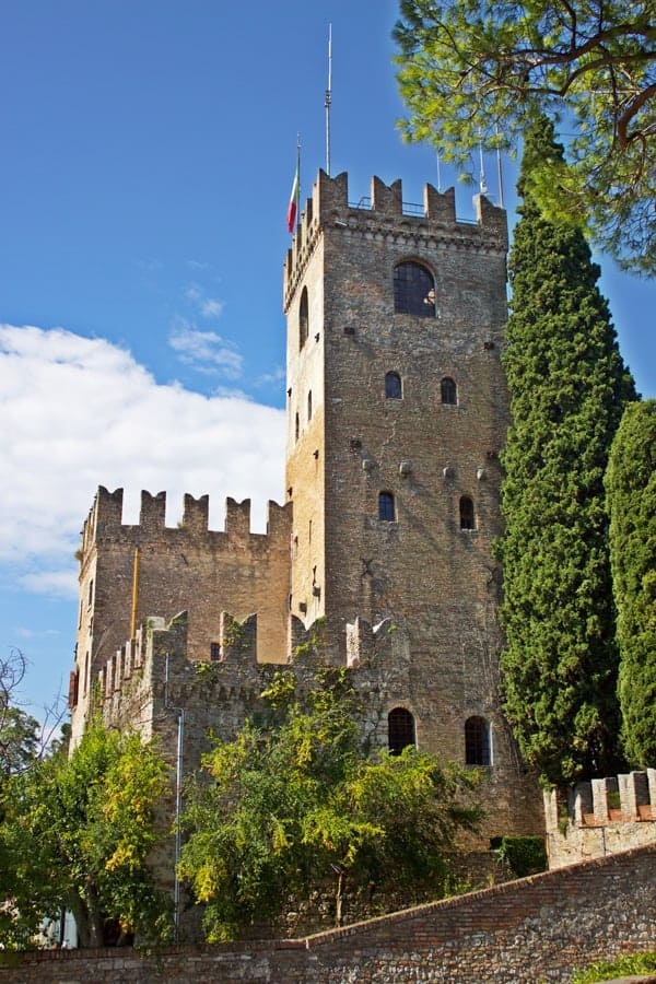 Castle in Conegliano, Veneto, Italy