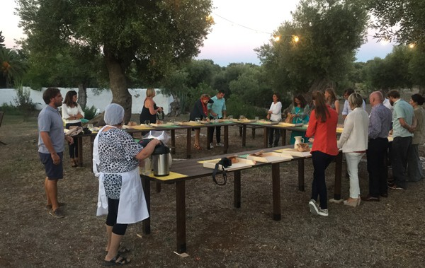Cooking lesson at Masseria Il Frantoio