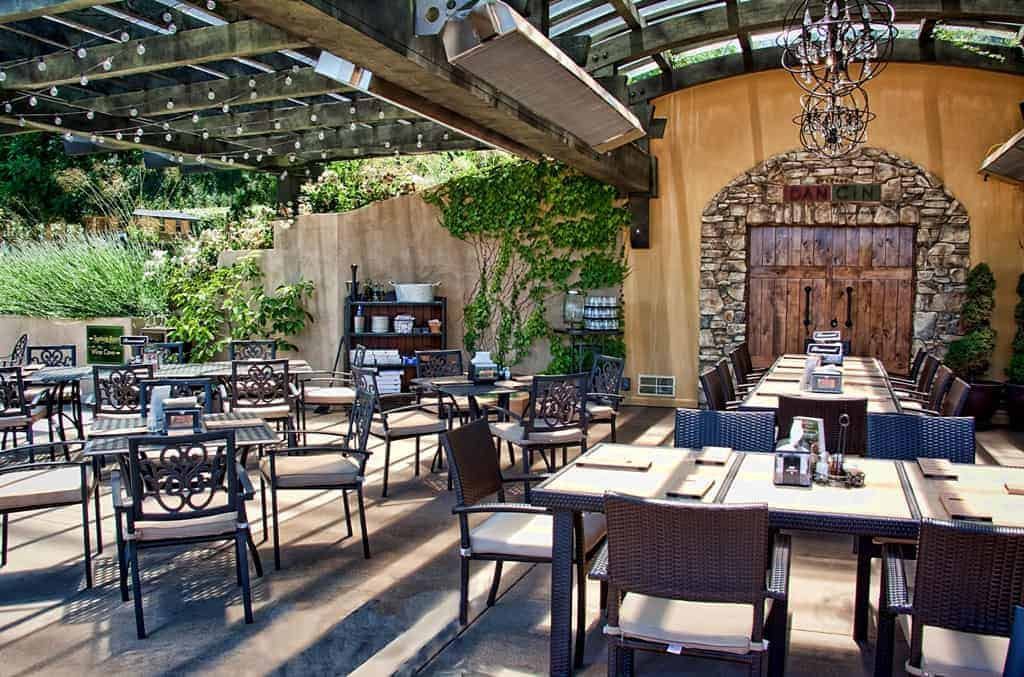 DANCIN Vineyards dining room (photo courtesy of the winery)