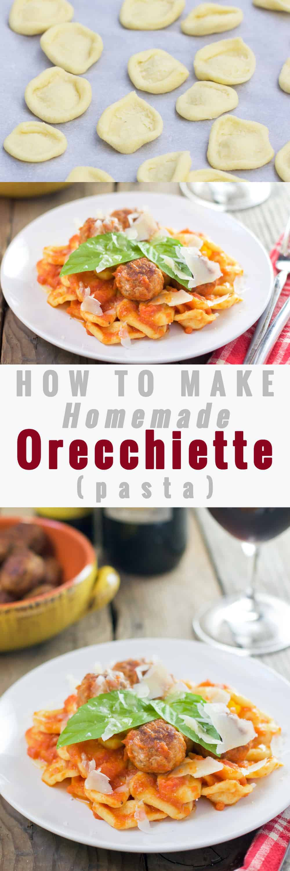 How to Make Homemade Orecchiette (pasta)