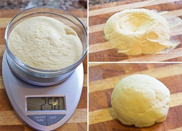 Making Homemade Orecchiette