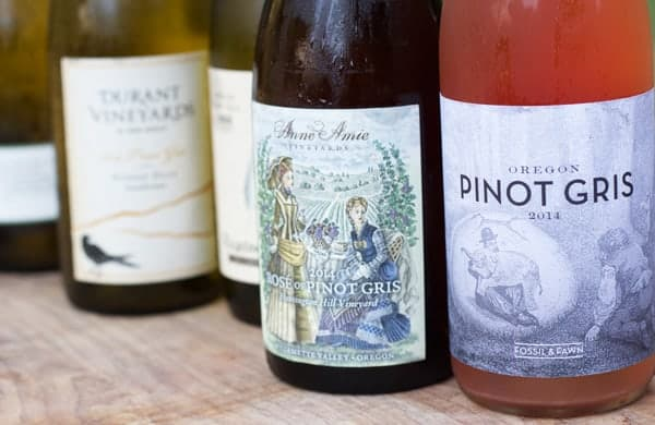 Oregon Pinot Gris Rosé