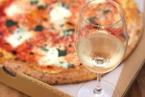 Oregon Pinot Gris and Margherita Pizza