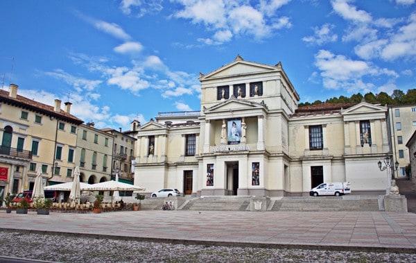 Square in Conegliano, Italy